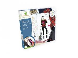 Hétköznapi viselet, divattervező kreatív készlet (Sycomore, 7-14 év)