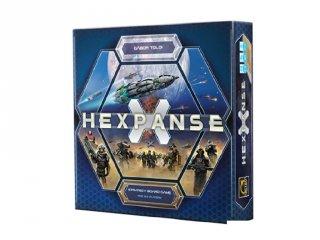 Hexpanse (stratégiai sci-fi társasjáték, 10-99 év)
