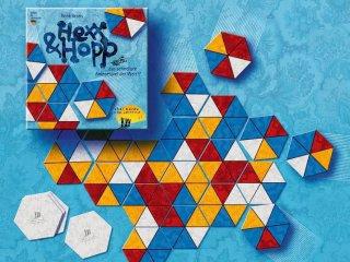 Hexx & Hopp (Drei Hasen, illesztős játék hatszögű lapokkal, 8-99 év)