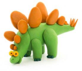 Hey clay gyurma nagy szett Dinók, kreatív készlet (3-10 év)