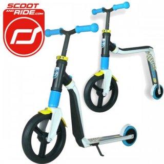 Highwayfreak, roller és futóbicikli egyben (Scoot&Ride, 202310, kétfunkciós jármű, 3-10 év)
