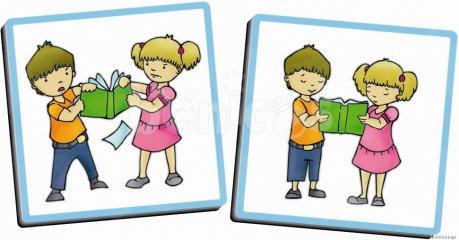 Hogy viselkedj az iskolában, óvodában (Akros, 20801, felfedeztető képkártyajáték, 3-7 év)