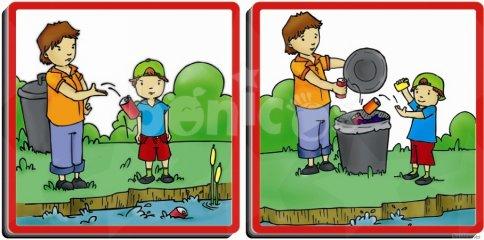 Hogyan viselkedj a természetben (Akros, 20800, környezetvédelemre tanító játék, 3-12 év)