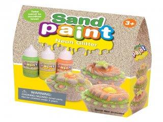Homokfestő neon készlet (Sand Paint, kreatív készlet, 3-12 év)
