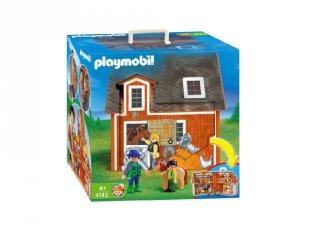 Hordozható tanya, Playmobil szerepjáték (4142, 4-10 év)