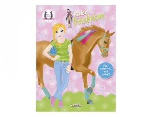 Horses Passion Rider Fashion 1, matricás foglalkoztató füzet (NAP, 3-10 év)