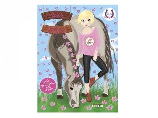 Horses Passion Rider Fashion 4, matricás foglalkoztató füzet (NAP, 3-10 év)