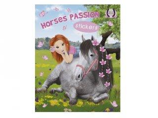 Horses Passion Sticker 1, matricás foglalkoztató füzet (NAP, 3-10 év)