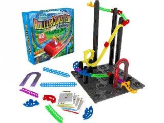 Hullámvasút építő logikai játék (Thinkfun, Roller Coaster Challenge, 6-99 év)