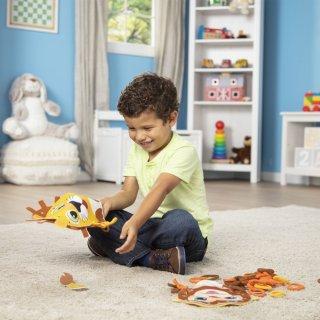 Hurkold! Vadállatka bábok, Melissa&Doug kreatív játék (40186, 3-6 év)