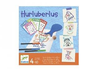 Hurluberlus, Djeco kreatív társasjáték - 8468 (4-10 év)