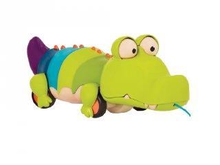 Húzható krokodil, mozgásfejlesztő bébijáték (B.Toys, 1-3 év)