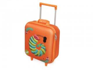 Húzható mini bőrönd, Hernyó (Oops, gyerek kiegészítő, 3-6 év)