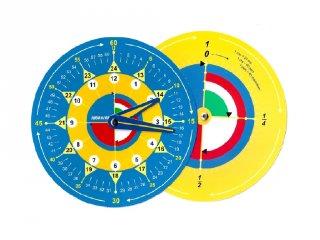 Időkerék (Vésike, logikai számolós eszköz, 7-14 év)