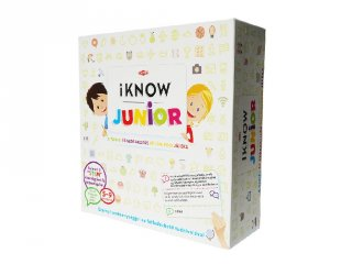 iKNOW Junior, taktikai kvíz társasjáték (4-9 év)