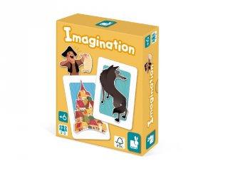 Imagination Képzelet, Janod memóriajáték (6-12 év)