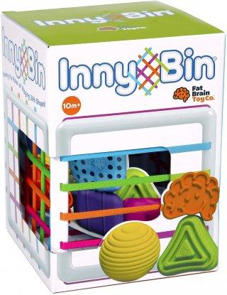 Inny Bin felfedező kocka, készségfejlesztő bébijáték (FB, 10 hó-3 év)