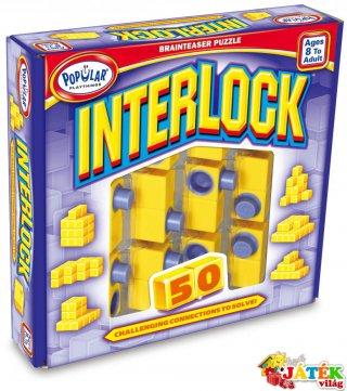 Interlock, avagy Építkezz, de szépen! (egyszemélyes, térbeli építős logikai játék, 8-99 év)