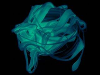 Ion, világító gyurma (Kreatív kézügyesség fejlesztő, kékeszölden világít, 3-99 év)