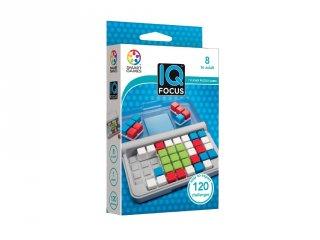 IQ Focus (Smart Games, logikai játék, 120 feladvány, 8-99 év)