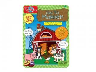 Irány a piac! Fémdobozos társasjáték (TS, mágneses társasjáték, 3-7 év)