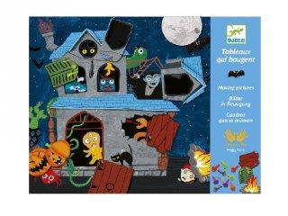 Jancsiszöges Kísértetek háza (Djeco, 8972, kreatív játék, 3-6 év)