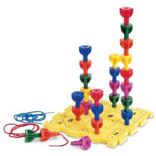 Játék a szögekkel (LR, építő és ügyességi játék, 2-5 év)