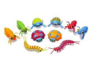 Játék bogarak, 10 db (Melissa&Doug, Sunny Patch, 10 db-os állatfigura készlet, 2-10 év)