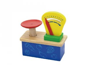 Játék mérleg (FP, fa szerepjáték, 3-8 év)