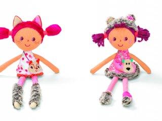 Játékbaba, Cesaria, a medvelány (Lilliputiens, 86744, babajáték, 1-8 év)