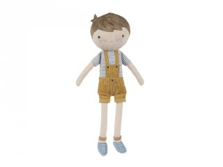 Játékbaba, Jim 50 cm, Little Dutch szerepjáték díszdobozban (4525, 0-4 év)