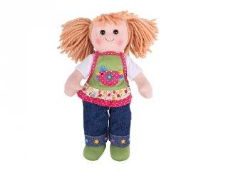 Játékbaba, Sophia 35 cm (Bigjigs, szerepjáték, 1-7 év)
