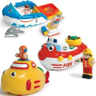 Játékhajók, 3 in 1 (Wow Toys, 3 hajó egyben, 1-5 év)