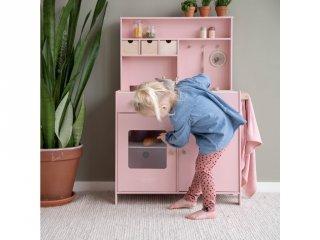 Játékkonyha pink, Little Dutch fa szerepjáték (4486, 3-7 év)