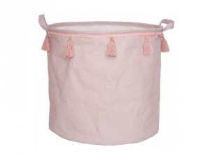 Játéktároló pasztell rózsaszín gyerekszoba kiegészítő (Jabadabado)