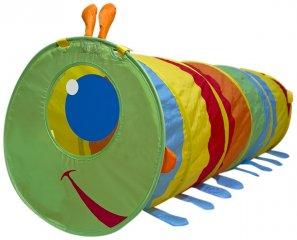 Játszóalagút, Kukacos (Melissa Doug, mozgásfejlesztő játék, 2-5 év)