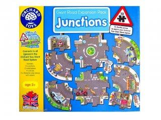 Játszószőnyeg puzzle, Csomópontok (Orchard, 10 db-os óriás puzzle, 2-6 év)
