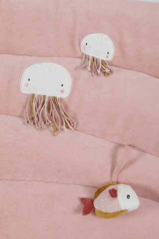 Játszószőnyeg rózsaszín, Little Dutch készségfejlesztő bébijáték (4839)