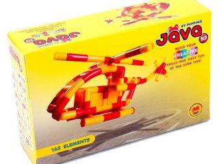 Jáva10. Építőkockák, Legyen saját helikoptered! (165 elemes építőjáték, 3-99 év)