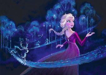 Jégvarázs II Elza hercegnő kirakó, 60 db-os puzzle (CLEM, 5-7 év)