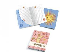 Jegyzetfüzet Aurelia A/6, 2 db-os Djeco Lovely paper szett - 3589