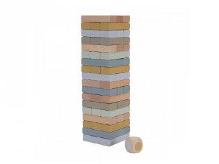 Jenga, Little Dutch fa ügyességi társasjáték (4757, 3-10 év)