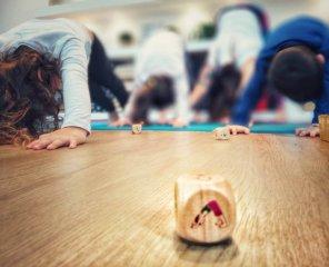 Jóga kockajáték, Buki mozgásfejlesztő társasjáték (5-12 év)