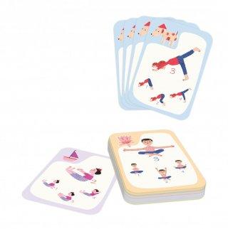 Jóga kvartett kártyajáték, Buki mozgásfejlesztő társasjáték (6-12 év)