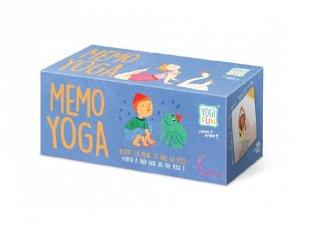 Jóga memória, Buki mozgásfejlesztő társasjáték (3-7 év)