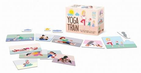 Jóga vonat, Buki mozgásfejlesztő családi társasjáték (2-10 év)