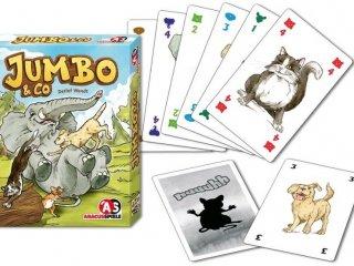 Jumbo&Co (Vicces, állatos, logikai kártyajáték, 7-99 év)