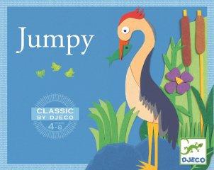 Jumpy (Djeco, 5214, békaugratós ügyességi játék, 4-8 év)
