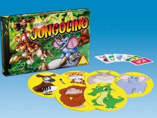 Jungolino (Piatnik, az izgő-mozgó, hiperaktív gyerekek társasjátéka, 4-10 év)