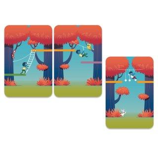 Kalandpark, Djeco kooperációs és memóriafejlesztő kártyajáték - 5180 (6-99 év)